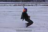 Don slides across the snow. 1/1/10