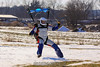 Blaine shows off his skiing skills. 1/16/10