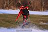 Alfonso runs through the snow. 1/16/10