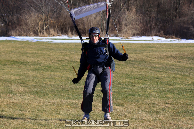 Rob uses his tongue to gauge wind speed and direction. 1/23/10