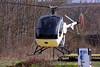 Schweizer 300 landing on its pad. 3/27/10