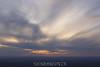 The setting sun. 4/24/10