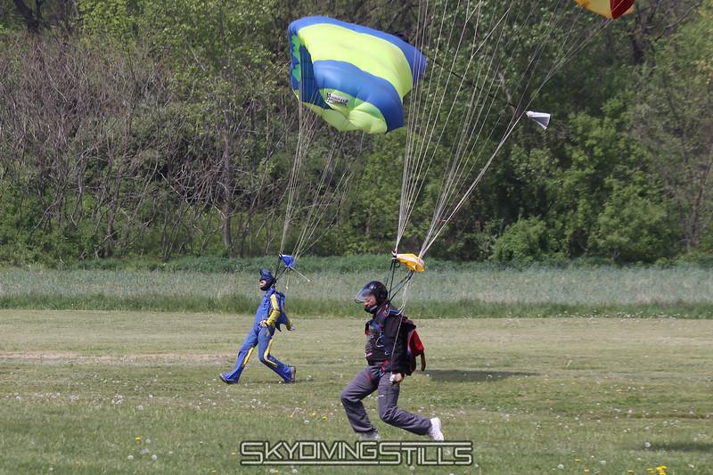 Synchronized landings. 5/2/10