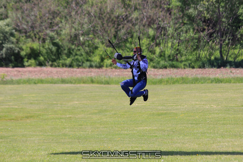 Flying down the field. 5/15/10