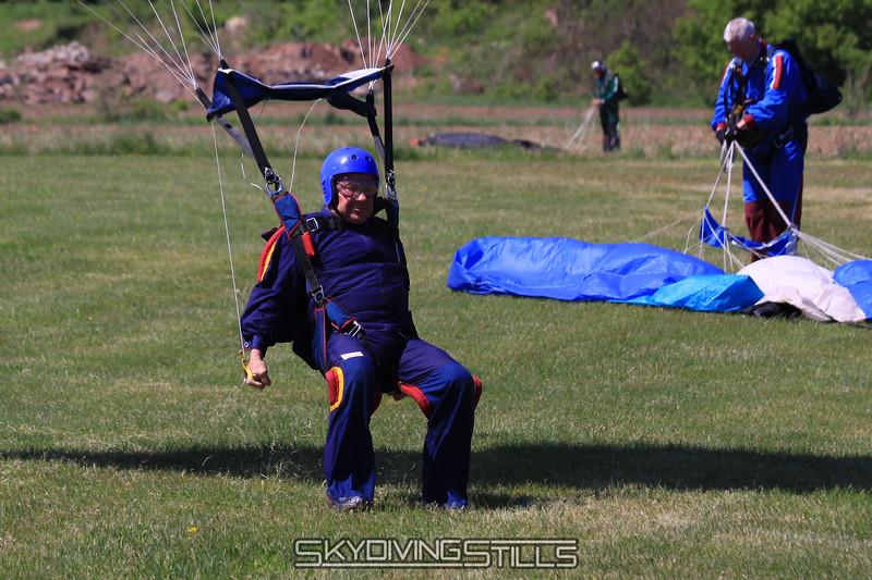 Tom slides on his feet like a pro. 5/16/10