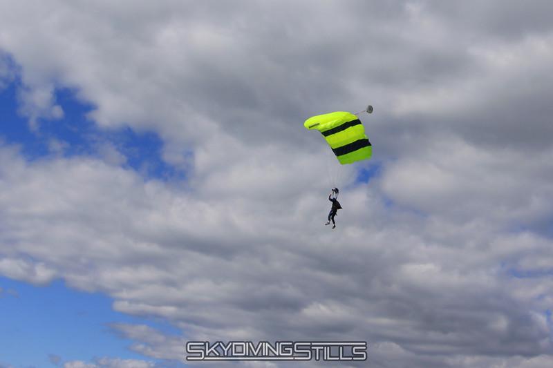 Glenn flies above me on final. 5/15/10
