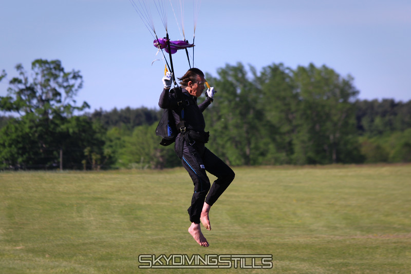Roger Ponce lands for his first time in his 40th year jumping at CPI. 5/15/10