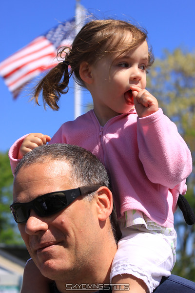 Mady and Daddy. 5/16/10