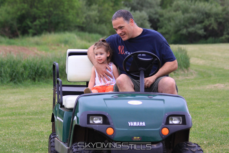 Jimmy and Mady go for a ride. 5/23/10