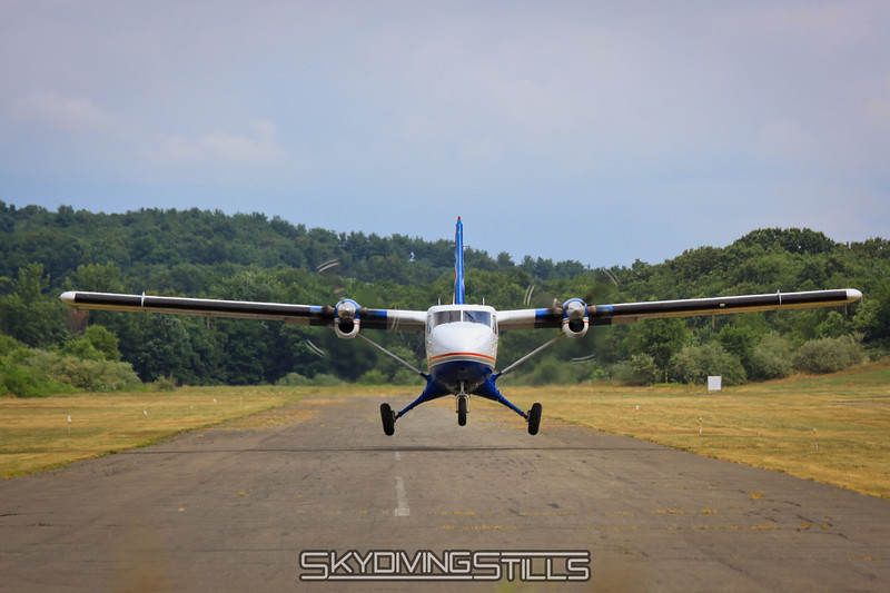 Twin Otter lifts off. 7/10/10