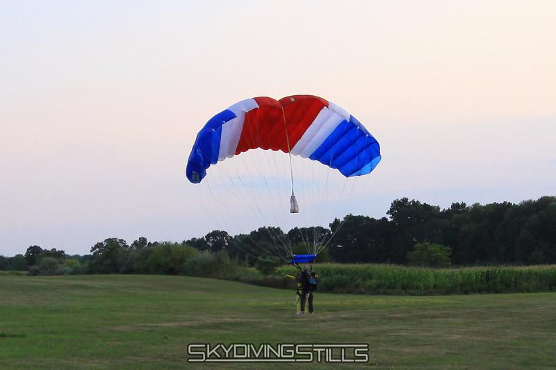 Standup landing. 8/8/10