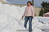 Mary summits Mt. Ellington. 1/15/11