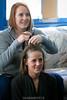 While the ladies do their hair... 1/23/11