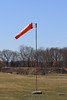 The new windsock looks a little small. 3/27/11