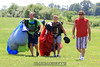 Lyle Presse and a couple of his canopy course participants. 7/9/11