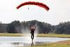 Wet landing area. 2/17/11