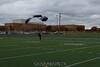 Touchdown! Almost literally!