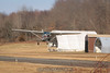 Cessna departing. 1/28/12