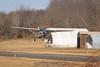 Cessna departing. 1/28/12