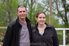 Rob and his niece. He almost smiled for that one. 5/5/12