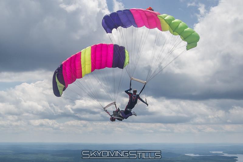 Keith initiates a downplane.