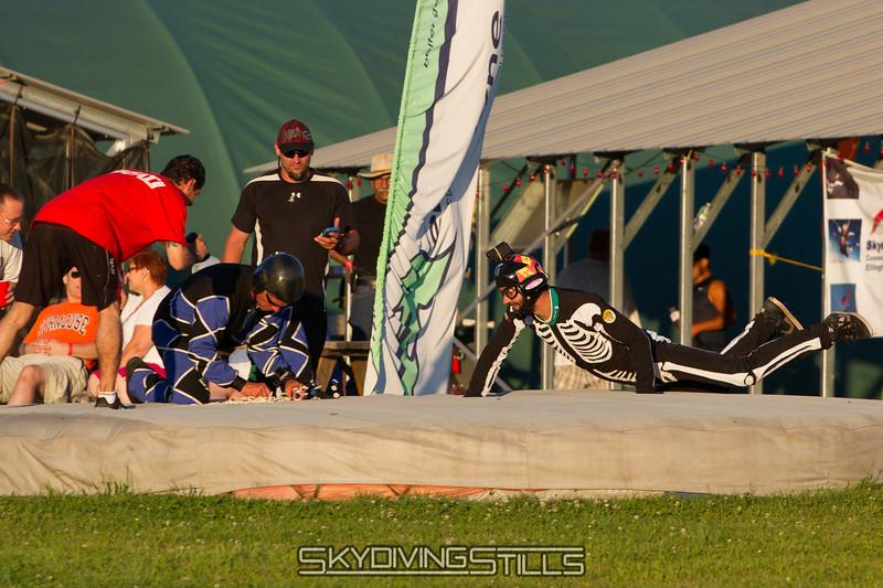 Simon reaches obstacle #2...