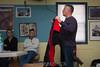 Mark shows off the new rental wingsuits.