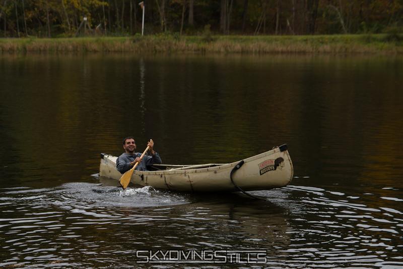 After dumping Monique overboard, Dan could finally enjoy himself. 10/12/13