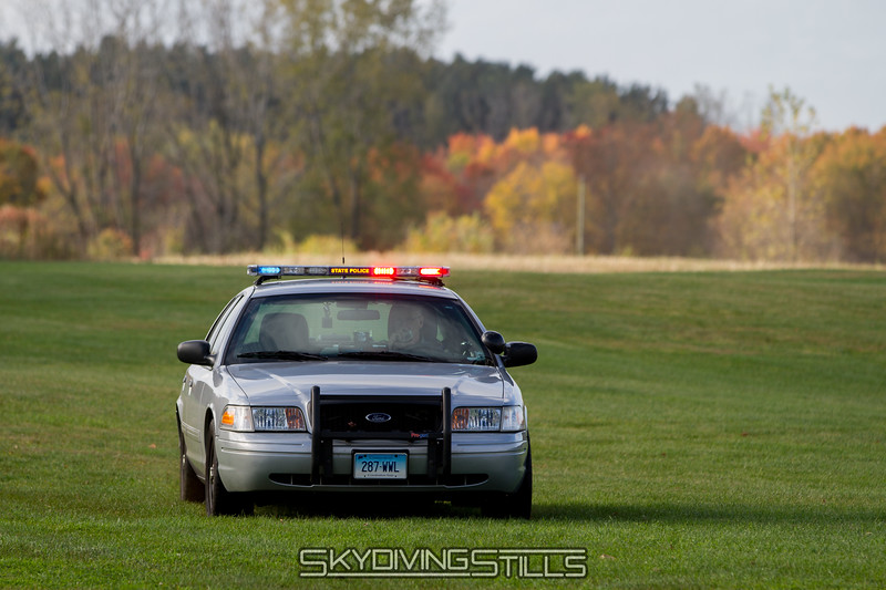 State trooper arrives to ask about the horrible accident. 10/13/13