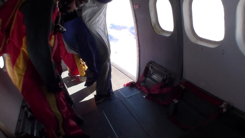 Video of wingsuit docked attempt 2.