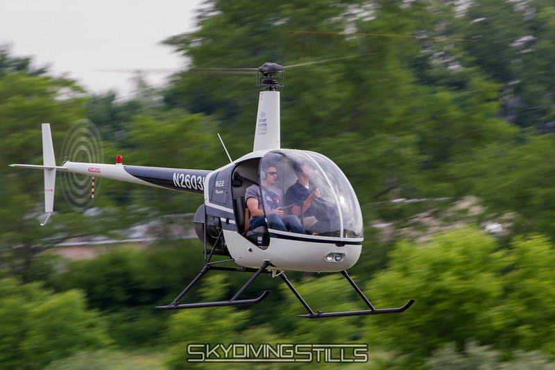 R22 zooms by.
