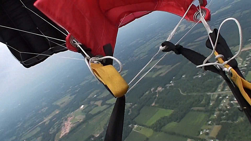 Video of my first cutaway. Jump 2671, 8/18/13.