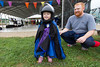 Caitlyn ready for her first wingsuit jump.