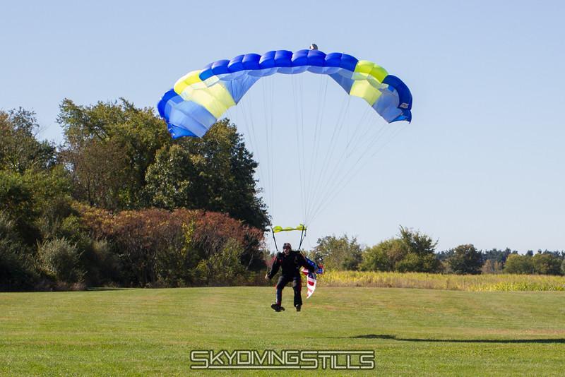 Dave's 500th landing.