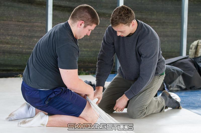 Zach lends a helping hand.