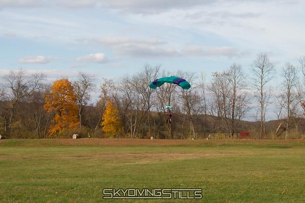 Morgann's 100th landing.