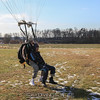 Standup landing.