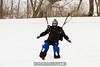 Philip's pre-second snow landing!