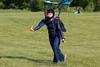 Sarah runs out her landing.