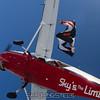 Wingsuit exit.