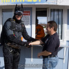 "Batman greets local children. <br><span class=""skyfilename"" style=""font-size:14px"">2015-10-31_skydive_cpi_0204</span>"