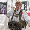 "Kim Emmons Knor in her own gear from the 1950s. Published in Parachutist, December 2015. <br><span class=""skyfilename"" style=""font-size:14px"">2015-10-02_skydive_cpi_0027</span>"