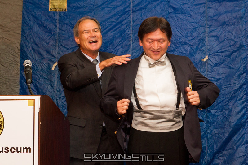 "Yasu gets his jacket. Published in Parachutist, December 2015. <br><span style=""font-size:14px"">2015-10-03_skydive_cpi_0115</span>"