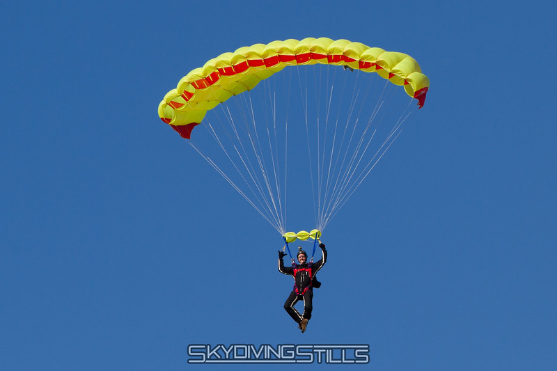 "Sam's canopy has a lump. Published in Parachutist, June 2016. <br><span class=""skyfilename"" style=""font-size:14px"">2016-02-20_skydive_cpi_0064</span>"