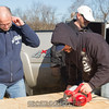 """Chris cuts plywood for one of the many projects going on at once. <br><span class=""""skyfilename"""" style=""""font-size:14px"""">2016-03-19_skydive_cpi_0063</span>"""