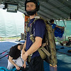 """Doug tries on Philip's new rig. <br><span class=""""skyfilename"""" style=""""font-size:14px"""">2018-08-05_skydive_cpi_0140</span>"""