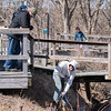 """Pat inspects the railing. <br><span class=""""skyfilename"""" style=""""font-size:14px"""">2019-03-23_skydive_cpi_0097</span>"""