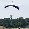 Rhi Rhi's pilot chute shows her sudden drop.