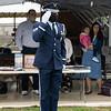 Military honors.