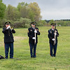 Taps on the bugle.